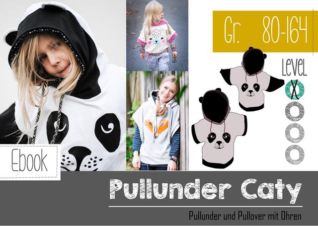 Produktfoto von FeeFee zum Nähen für Schnittmuster Oversize Pulli Caty Kids