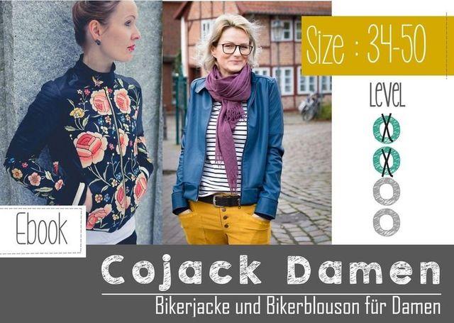 Produktfoto von FeeFee zum Nähen für Schnittmuster CoJack - die Bikerjacke für Damen