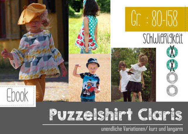 Produktfoto von FeeFee zum Nähen für Schnittmuster Puzzleshirt Claris