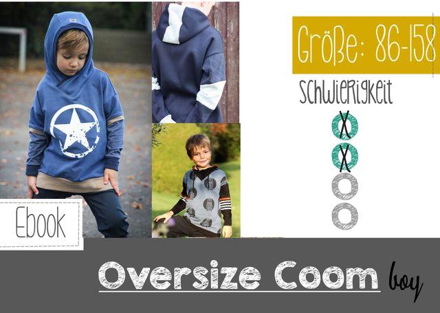 Produktfoto von FeeFee zum Nähen für Schnittmuster Oversize Coom Boy