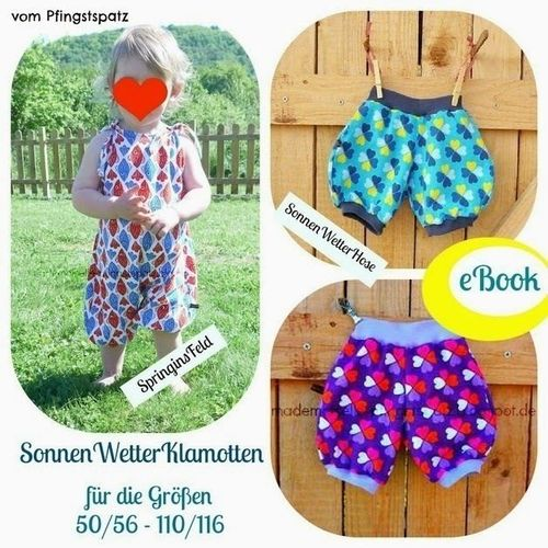 Produktfoto von Mademoiselle Pfingstspatz zum Nähen für Schnittmuster SonnenWetterKlamotten