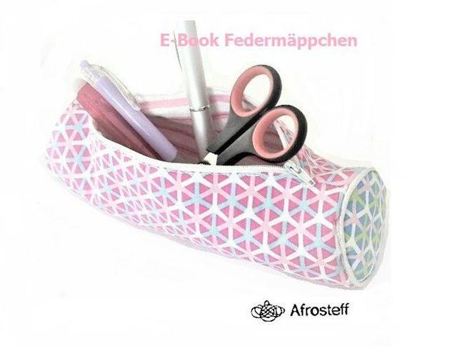 Produktfoto von Afrosteff zum Nähen für Schnittmuster Federmäppchen