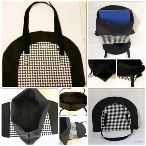 Produktfoto von Afrosteff zum Nähen für Schnittmuster Projekttasche Ronda