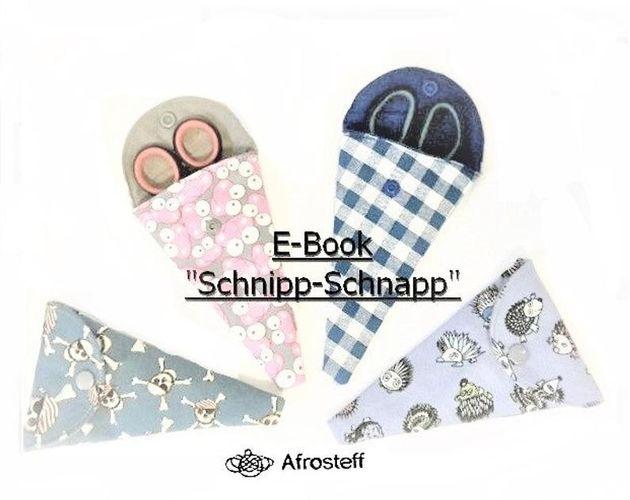 Produktfoto von Afrosteff zum Nähen für Schnittmuster Scherenetui Schnipp-Schnapp