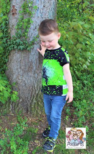 Produktfoto von Mamilu Design zum Nähen für Schnittmuster Cool Summer Boy