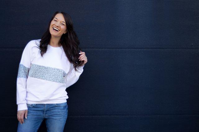 Produktfoto von lemon & mint Couture zum Nähen für Schnittmuster Pullover Malmö