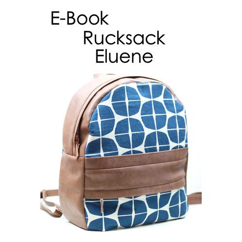 Produktfoto von Zaubernahnna zum Nähen für Schnittmuster Rucksack Eluene