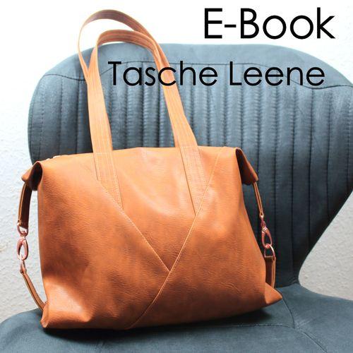Produktfoto von Zaubernahnna zum Nähen für Schnittmuster Tasche Leene
