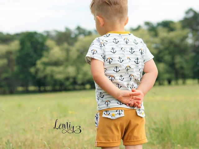 Produktfoto von FrleinFaden zum Nähen für Schnittmuster Taschenklappenhose