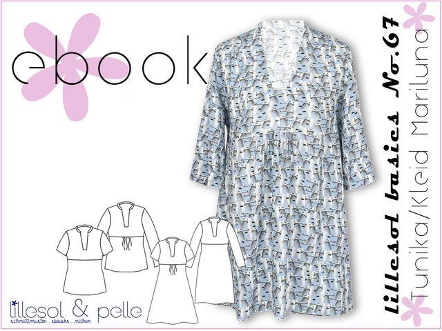 Produktfoto von Lillesol & Pelle zum Nähen für Schnittmuster Lillesol basics No. 67 Tunika/Kleid Mariluna
