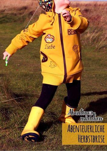 Produktfoto von Abenteuermädchen zum Nähen für Schnittmuster Abenteuerliche Herbstbrise
