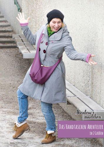 Produktfoto von Abenteuermädchen zum Nähen für Schnittmuster Das Handtaschen Abenteuer