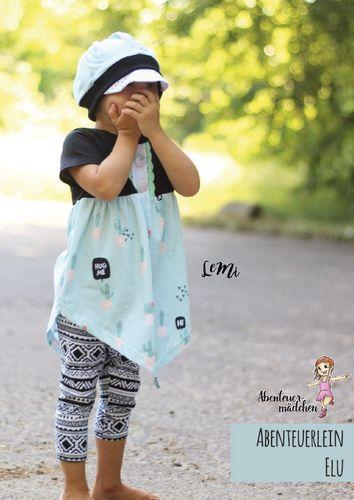 Produktfoto von Abenteuermädchen zum Nähen für Schnittmuster Abenteuerlein Elu