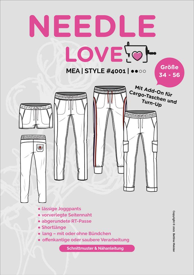 Produktfoto von {NEEDLE LOVE} zum Nähen für Schnittmuster Mea