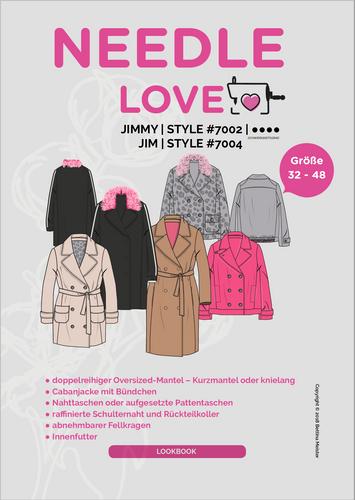 Produktfoto von {NEEDLE LOVE} zum Nähen für Schnittmuster Jimmy/Jim