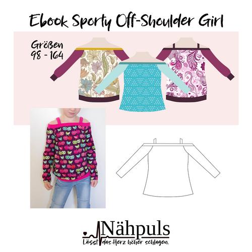 Produktfoto von Nähpuls zum Nähen für Schnittmuster Sporty Off-Shoulder Girls