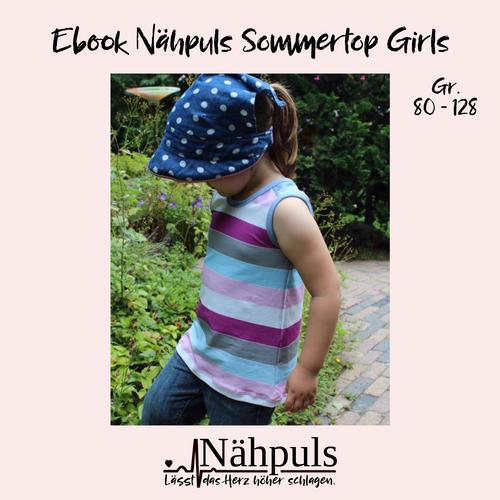 Produktfoto von Nähpuls zum Nähen für Schnittmuster Nähpuls Sommertop Girls