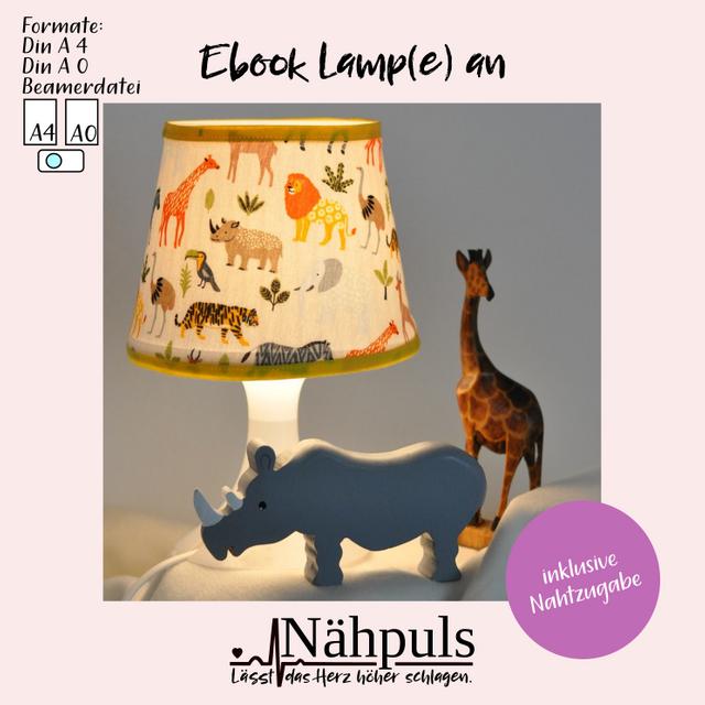 Produktfoto von Nähpuls zum Nähen für Schnittmuster Lampenhülle Lamp(e) an