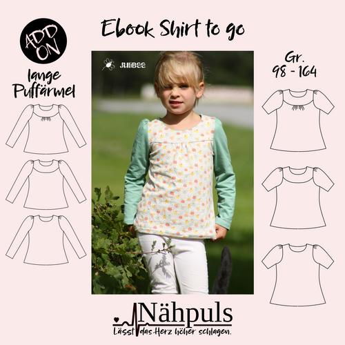 Produktfoto von Nähpuls zum Nähen für Schnittmuster Shirt to go
