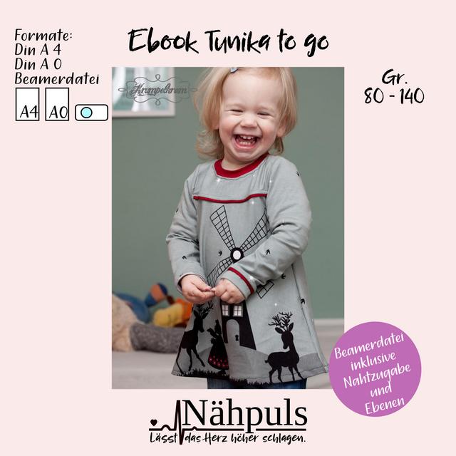 Produktfoto von Nähpuls zum Nähen für Schnittmuster Tunika to go