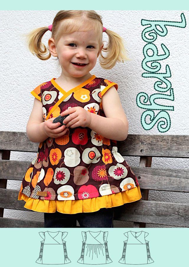 Produktfoto von olilu zum Nähen für Schnittmuster Sommerbluse Karys (Version 2.0)