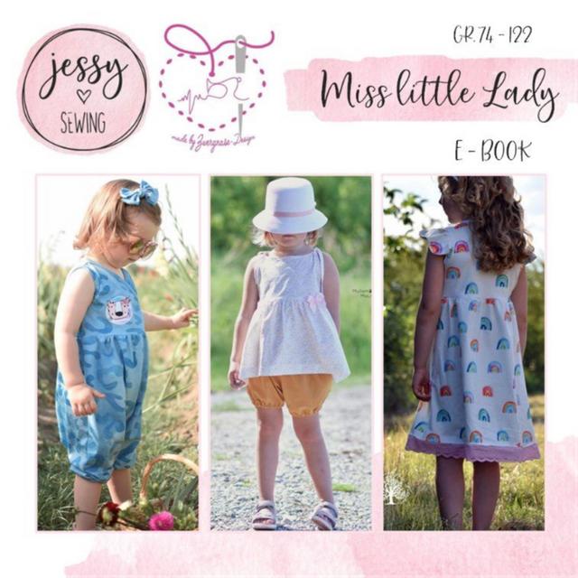 Produktfoto von Zwergnase-Design zum Nähen für Schnittmuster *miss little lady* Baukasten 74-122