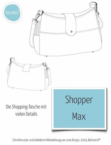 Produktfoto von Berlinerie zum Nähen für Schnittmuster Shopper Max