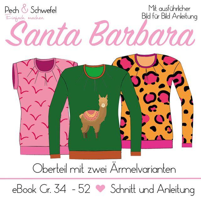 Produktfoto von Pech & Schwefel zum Nähen für Schnittmuster Shirt Santa Barbara
