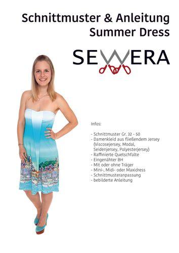 Produktfoto von sewera zum Nähen für Schnittmuster Summer Dress