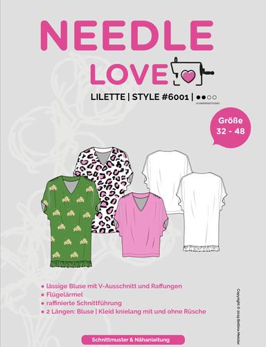 Produktfoto von {NEEDLE LOVE} zum Nähen für Schnittmuster Lilette