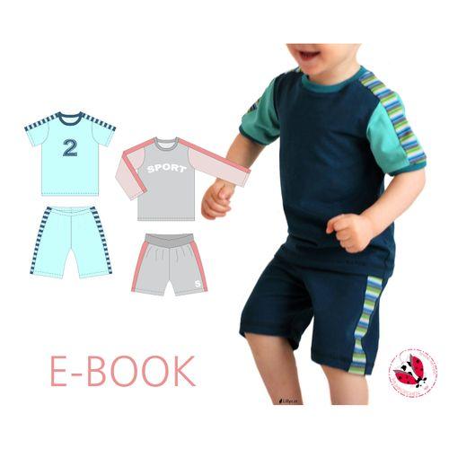Produktfoto von Muhküfchen Design zum Nähen für Schnittmuster Shirt 'n' Short 2.0