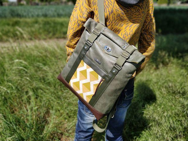 Produktfoto von AKkreativ zum Nähen für Schnittmuster Vario-Tasche Mimi