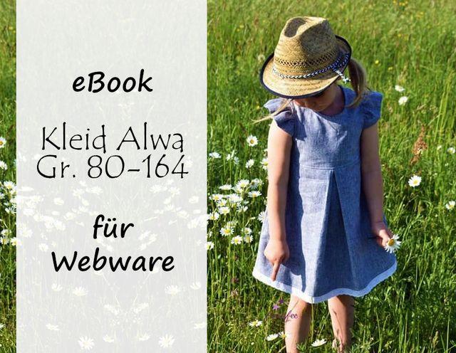 Produktfoto von Bunte Nähigkeiten zum Nähen für Schnittmuster Kleid Alwa