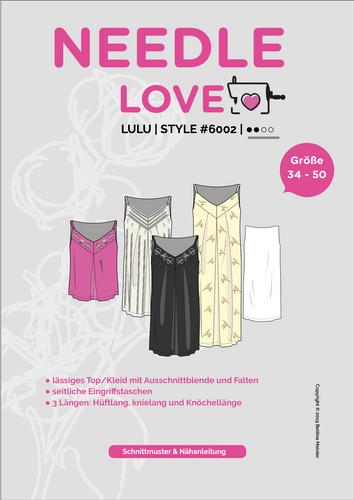 Produktfoto von {NEEDLE LOVE} zum Nähen für Schnittmuster LULU