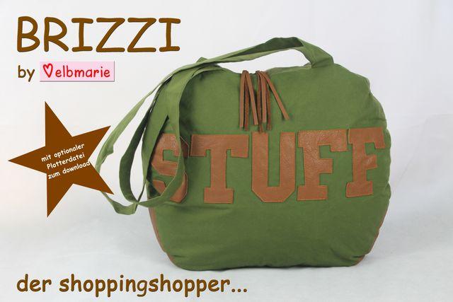 Produktfoto von elbmarie zum Nähen für Schnittmuster Brizzi - der Shoppingshopper