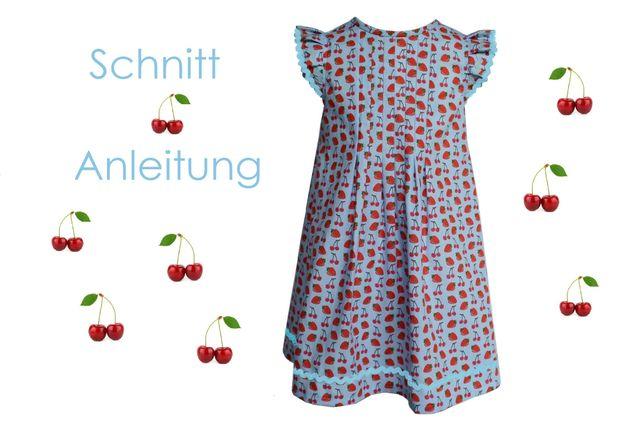 Produktfoto von Lunicum zum Nähen für Schnittmuster Kleid Greta