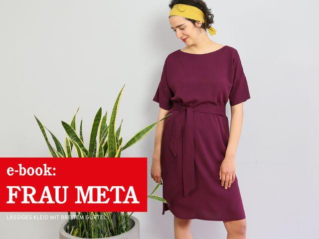 Produktfoto von STUDIO SCHNITTREIF zum Nähen für Schnittmuster Frau Meta