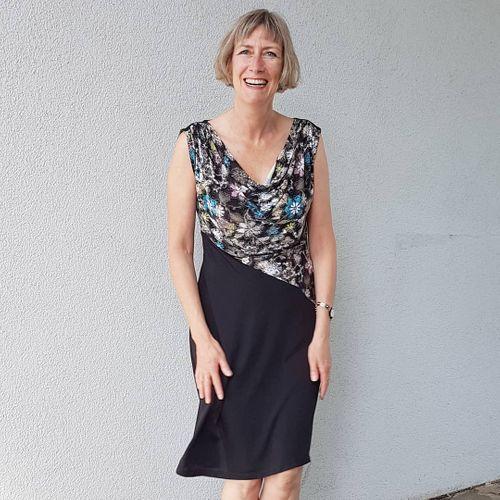 Produktfoto von Schnittmuster Berlin zum Nähen für Schnittmuster Sommerkleid Quila