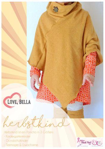 Produktfoto von Love, Bella zum Nähen für Schnittmuster Herbstkind