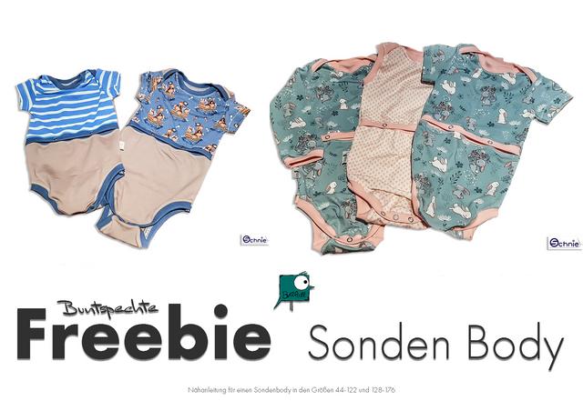 Produktfoto von Buntspechte zum Nähen für Schnittmuster SondenBody