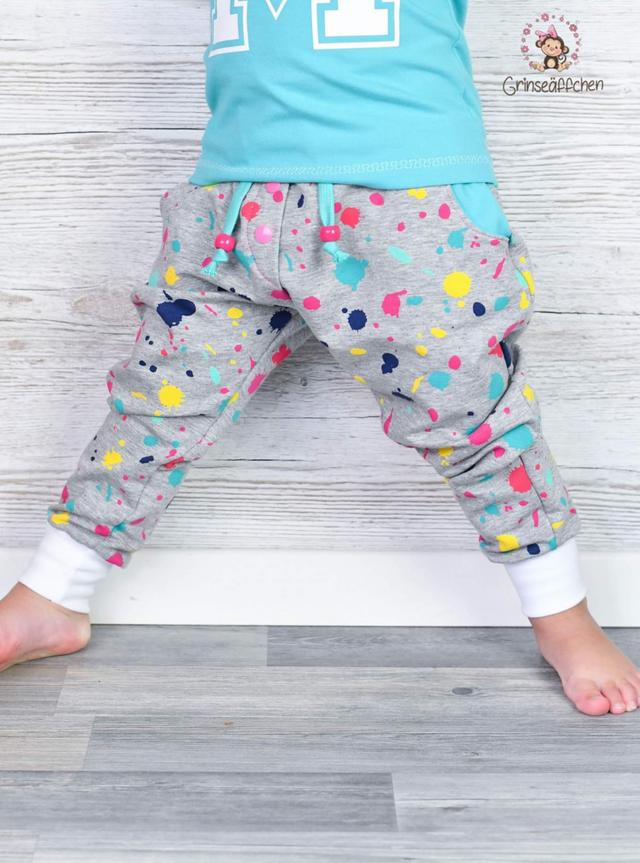Produktfoto von FrleinFaden zum Nähen für Schnittmuster Lange Babyhose