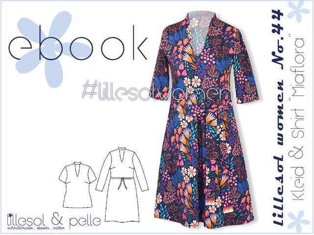 Produktfoto von Lillesol & Pelle zum Nähen für Schnittmuster Lillesol women No.44 Kleid & Shirt Miaflora