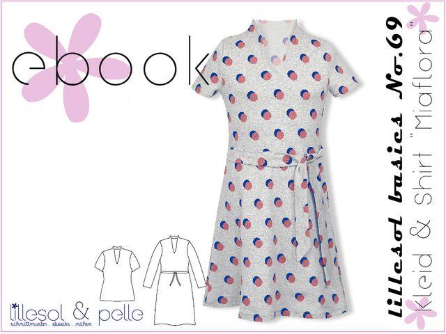 Produktfoto von Lillesol & Pelle zum Nähen für Schnittmuster Lillesol basics No.69 Kleid & Shirt Miaflora