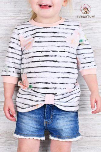 Produktfoto von FrleinFaden zum Nähen für Schnittmuster Schleifenshirt 68-98