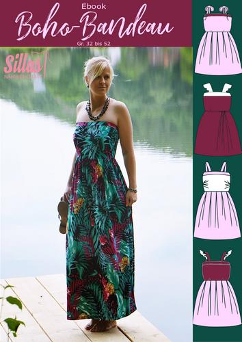 Produktfoto von Rosalieb & Wildblau zum Nähen für Schnittmuster Boho-Bandeau für Damen