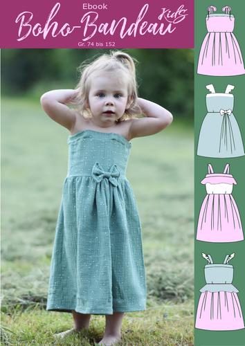 Produktfoto von Rosalieb & Wildblau zum Nähen für Schnittmuster Boho-Bandeau Kids