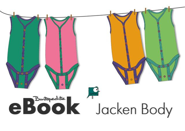 Produktfoto von Buntspechte zum Nähen für Schnittmuster JackenBody