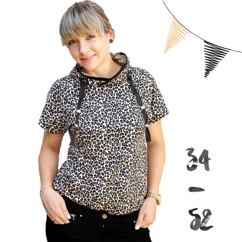 Produktfoto von Anni Nanni zum Nähen für Schnittmuster Sommerwind Damen Shirt & Hoody