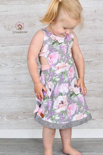 Produktfoto von FrleinFaden zum Nähen für Schnittmuster Cut-out-Kleid (68-98)