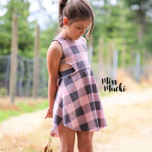 Produktfoto von FrleinFaden zum Nähen für Schnittmuster Cut-out-Kleid (104-140)